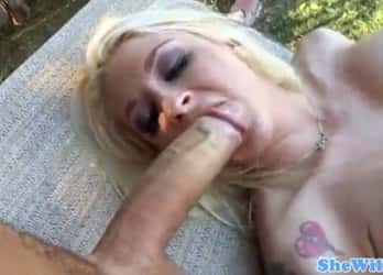 Hot Leya Falcon Giving Her Ass For Monster White Cock