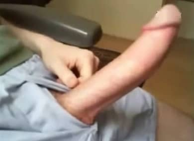 big white cock jerking off